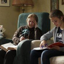 Mia madre: Giulia Lazzarini con Beatrice Mancini in una scena del film