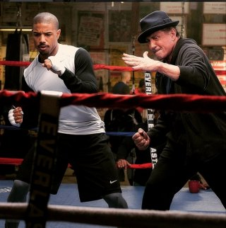 Creed: Sylvester Stallone e Michael B. Jordan sul ring