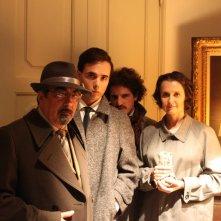 L'ospite: Luca Guastini con Alessio Sardelli e Sonia Coppoli in una foto promozionale
