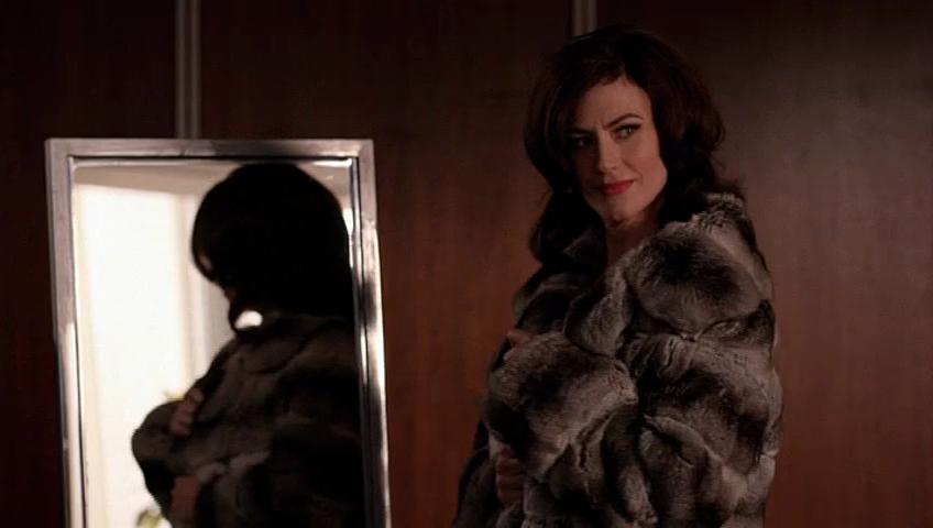 Mad Men: Maggie Siff nell'episodio Severance