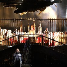 Royal Opera House - Tosca: Bryn Terfel in una scena dello spettacolo