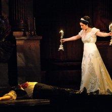 Royal Opera House - Tosca: Angela Gheorghiu sul palcoscenico in un momento dello spettacolo