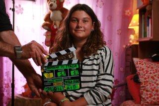I bambini sanno: Martina Allori sul set del documentario di Walter Weltroni