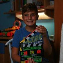 I bambini sanno: il bambino Davide Arseni sul set del documentario