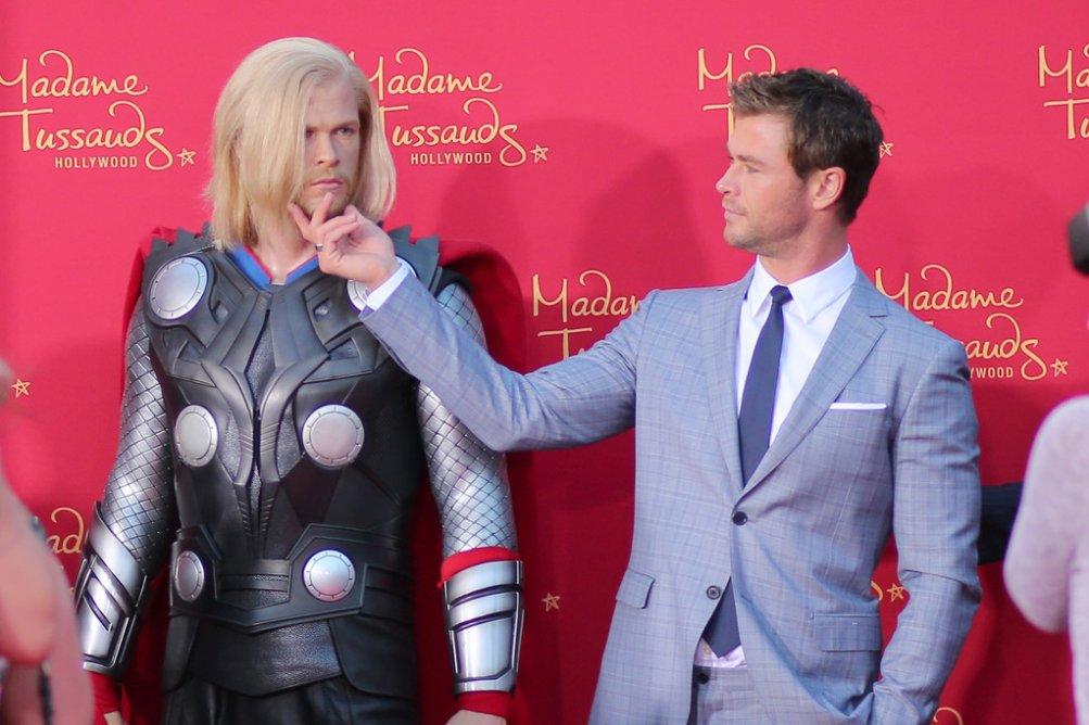 The Avengers: Age of Ultron - Chris Hemsworth sul red carpet della premiere