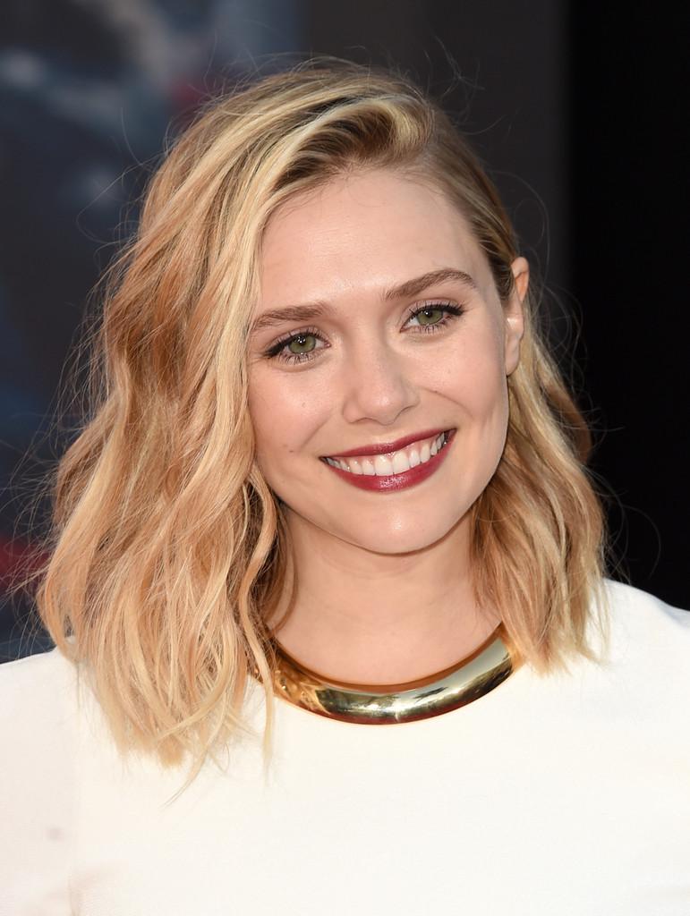 The Avengers: Age of Ultron - Elisabeth Olsen alla  premiere