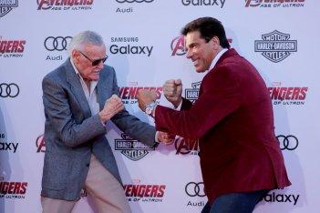 The Avengers: Age of Ultron - Lou Ferrigno e Stan Lee alla premiere