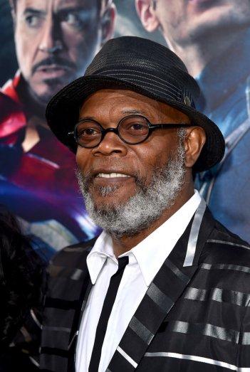 The Avengers: Age of Ultron - Samuel L. Jackson alla premiere