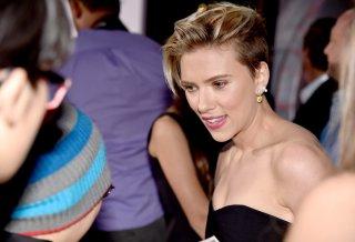 The Avengers: Age of Ultron - Scarlett Johansson alla premiere premiere