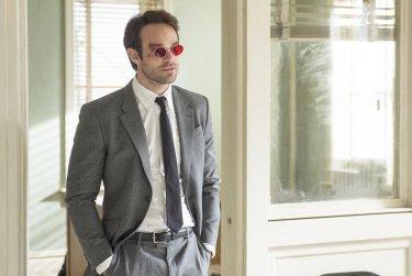 Daredevi: Charlie Cox in una delle prime immagini della serie