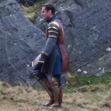 Knights of the Roundtable: King Arthur - Jude Law sul set