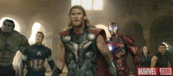 Avengers: Age of Ultron - i protagonisti in un'immagine del film