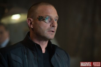 Avengers: Age of Ultron - Thomas Kretschmann in un momento del sequel