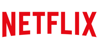 Il logo del canale streaming Netflix