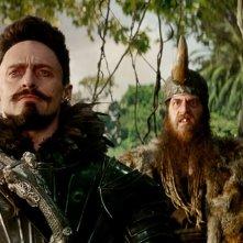 Pan: Hugh Jackman è Barbanera in una scena del film fantastico