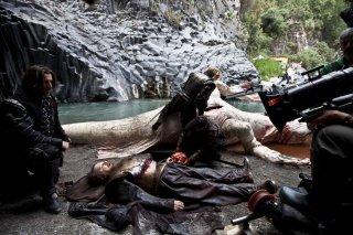 Il Racconto dei Racconti: un'immagine dal set del film