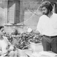 Moretti e Morante in Sogni d'Oro