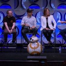 Star Wars: Episodio VII - Il Risveglio della Forza: un'immagine del panel