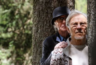 Youth - La giovinezza: Michael Caine con Harvey Keitel in una scena del film