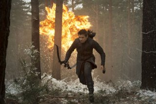 Avengers: Age of Ultron - Jeremy Renner in fuga tra i boschi