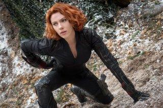 Avengers: Age of Ultron - Un'immagine di Scarlett Johansson nei panni di Black Widow