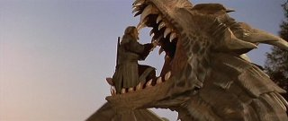Una scena di Dragonheart 3