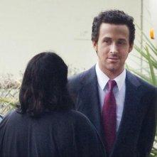The Big Short: Ryan Gosling in un'immagine scattata sul set del film