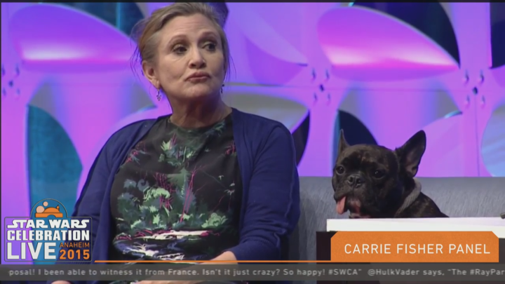 Star Wars Celebration: Carrie Fisher panel