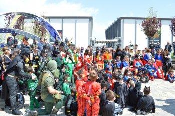 il DC Comics Superhero World Record a Roma