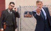 War On Everyone: Michael Peña e Alexander Skarsgård nella prima foto