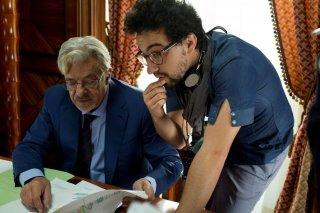 Il ragazzo della Giudecca: Giancarlo Giannini con il regista Alfonso Bergamo sul set del film