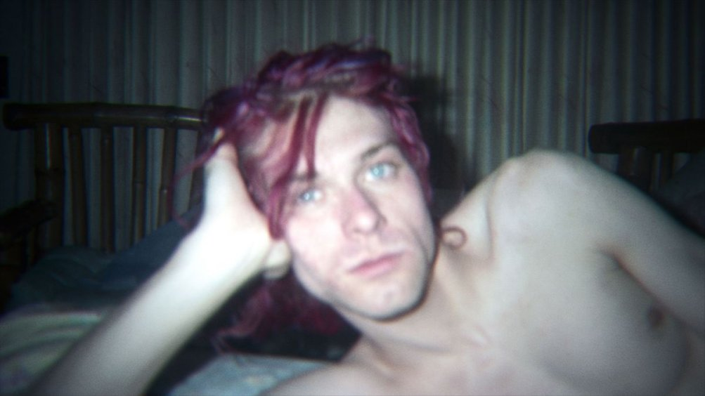 Kurt Cobain: Montage of Heck - Kurt Cobain in una scena del documentario
