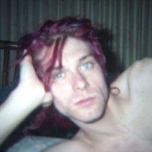 Kurt Cobain: Montage of Heck - Kurt Cobain in una scena del documentario