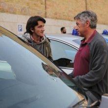 Squadra mobile: gli attori Filippo Crotti e Antonio Catania in un'immagine tratta dalla serie