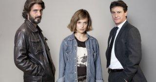 Squadra mobile: i protagonisti Daniele Liotti, Valeria Bilello e Giorgio Tirabassi