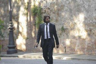 Squadra mobile: Daniele Liotti in una scena della serie di Canale 5