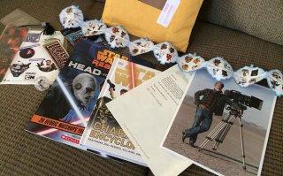 I regali inviati da George Lucas al piccolo seguace Colin Gilpatric