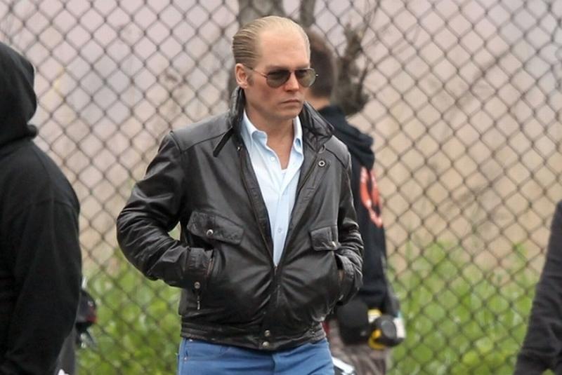 Black Mass: Johnny Depp irriconoscibile cammina sul set
