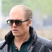 Black Mass: Johnny Depp calvo sul set