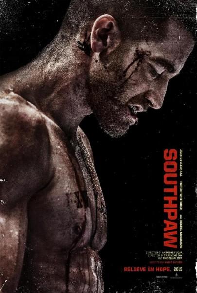Southpaw Poster Jake Gyllenhaal 405X600