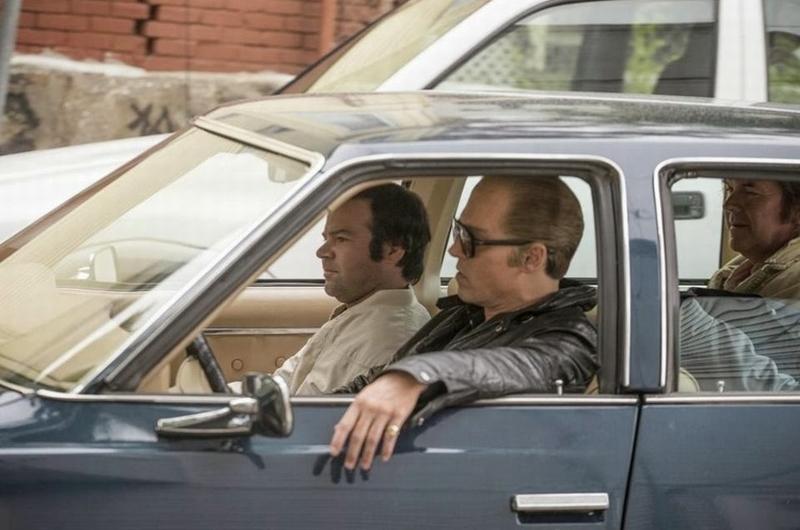 Black Mass: Johnny Depp in auto