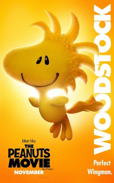 The Peanuts Movie Poster Woodstock 375X600