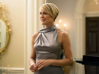 House of Cards: l'attrice Robin Wright è Claire Underwood