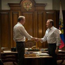 House of Cards: Kevin Spacey in una scena dell'episodio Capitolo 27
