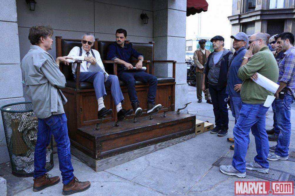 Agent Carter: Stan Lee sul set per il suo cameo