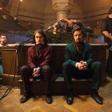 Victor Frankenstein: James McAvoy e Daniel Radcliffe sul set