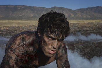 The Messengers: Diogo Morgado in una scena del pilot