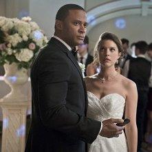 Arrow: David Ramsey e Audrey Marie Anderson in una scena della puntata Suicidal Tendencies
