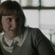 Girls: Lena Dunham in una scena di Daddy Issues