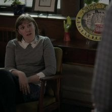 Girls: Lena Dunham in una scena dell'episodio Daddy Issues